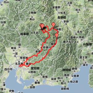 2007年05月28日 木曽路~飯田ルート