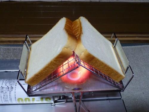 パンをセットしてみる。