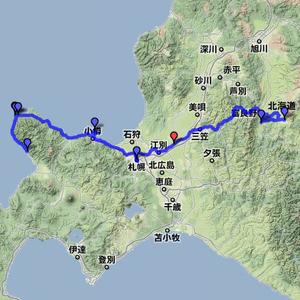 2011夏休みツーリング 8月12日(富良野~札幌~神威岬)