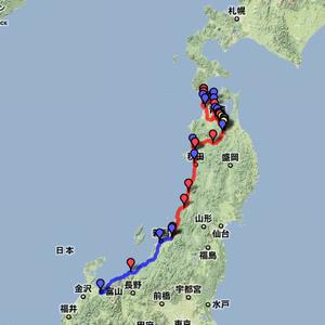 2011夏休みツーリング 8月15日~16日(青森~新潟~富山)