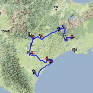 2011夏休みツーリング 8月7日(ナウマン公園~ナイタイ高原~鶴居)