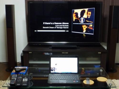 ノートPC~Apple tv