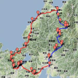 2012年GW帰省(京都~福井、R41周辺)