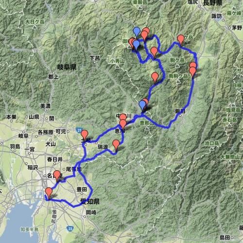 2012年06月30日 馬籠宿~御岳