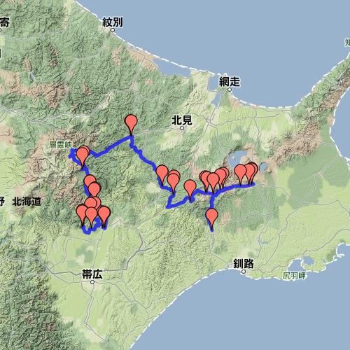 2013年8月11日(士幌~糠平湖~弟子屈)