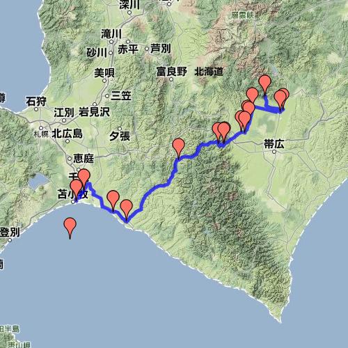 2013年8月10日(苫小牧~十勝~士幌)