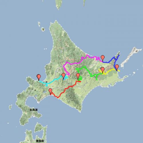 2013年北海道ツーリング