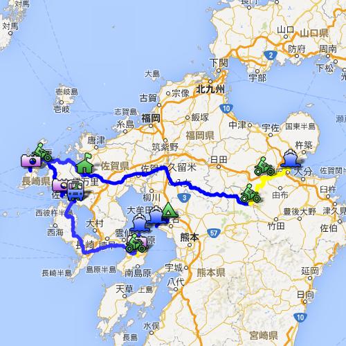 九州周遊ツーリング3